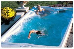 плавательный спа бассейн