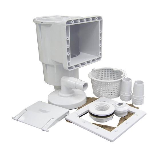 Закладное оборудование для фильтрации воды в бассейне.