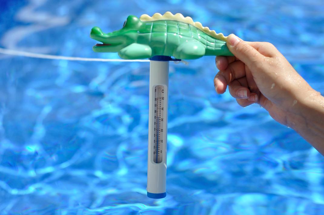 Температура воздуха и воды в бассейне